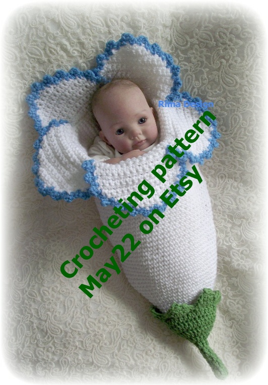 Crochet Pattern Baby Football Cocoon Dancox For